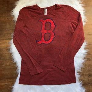 Boston Red Sox Long Sleeve Tee